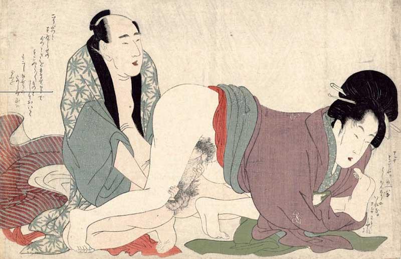 Японская камасутра эротика рисунки 5 фотография